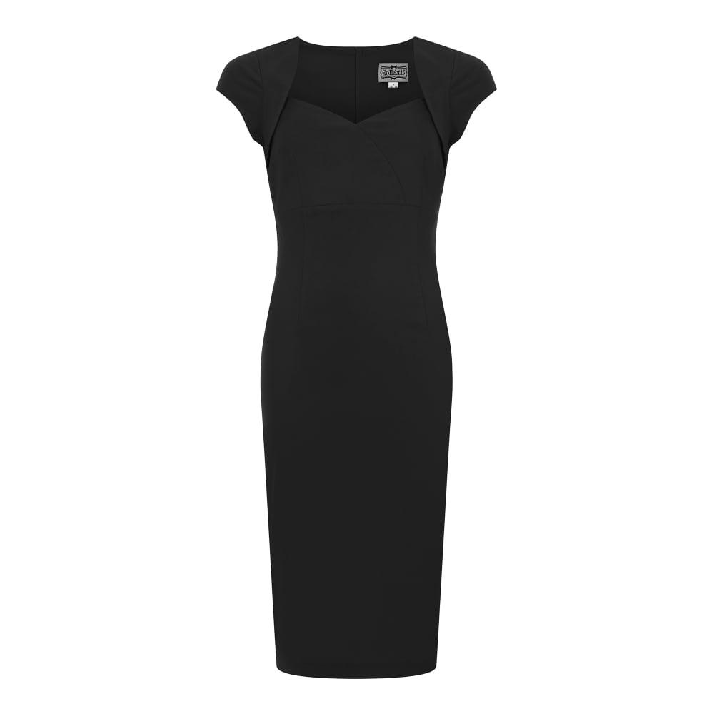 Černé pouzdrové šaty Collectif Regina