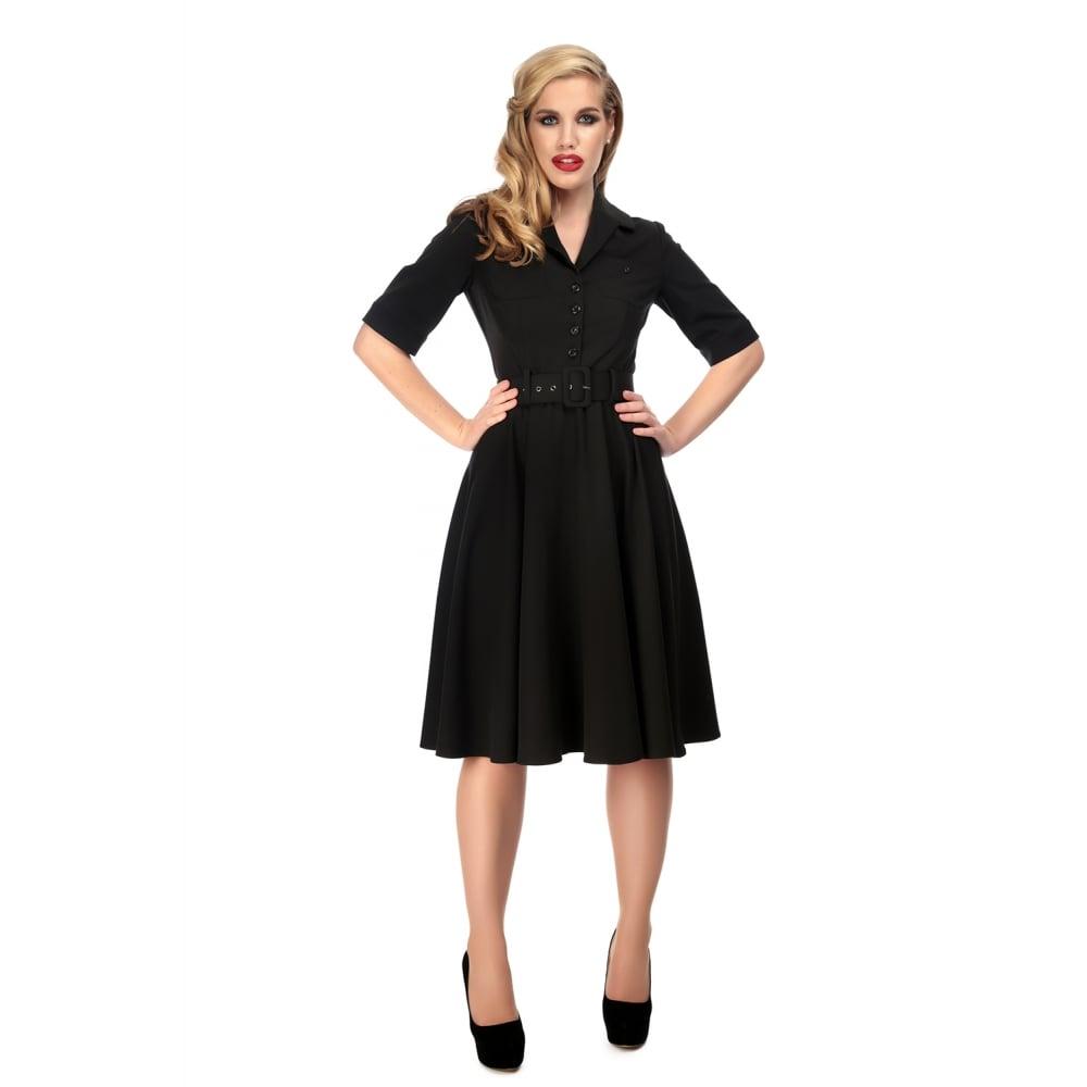 adc528e208 Černé košilové šaty Collectif Zara Collectif