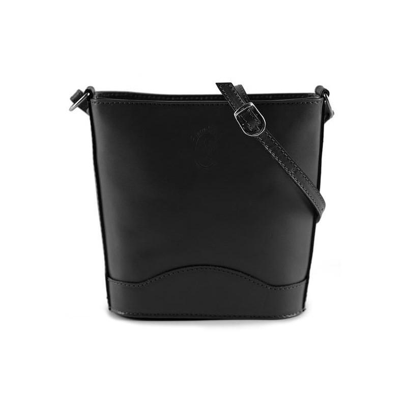 Kožená kabelka crossbody Padova černá Blanka Straka  ed36cc8dc0