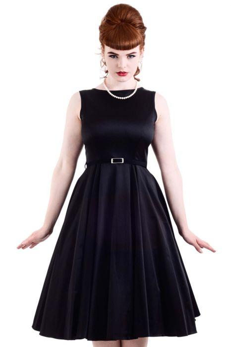 d97ed50d938 Černé společenské šaty Lady V London Audrey Lady V London