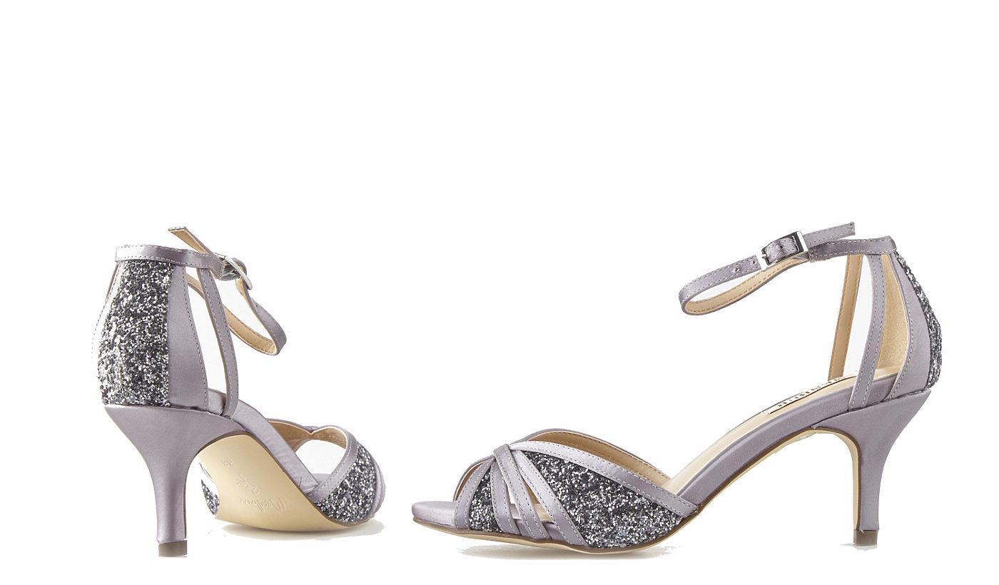 Stříbrné společenské boty Menbur Menbur  f812242dec