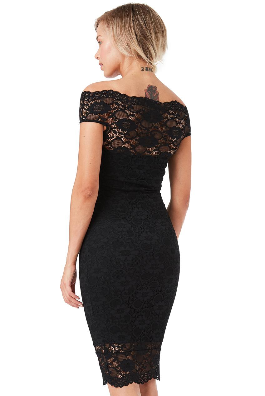 7a2ddbf5b2f Černé krajkové šaty City Goddess Ornella City Goddess