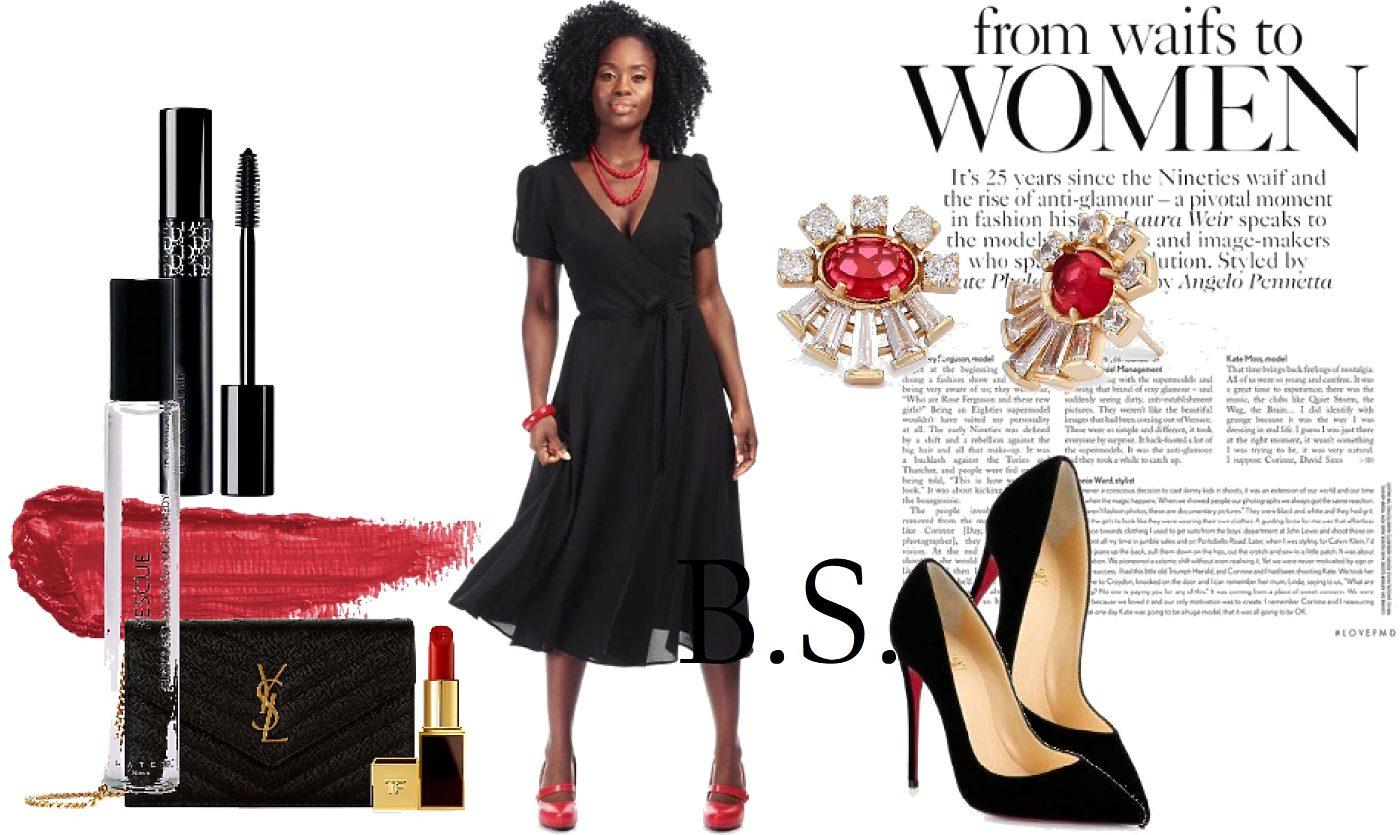 89c64b20a6b5 Černé šaty s výstřihem Collectif Wilhelmina Collectif Šaty na ...
