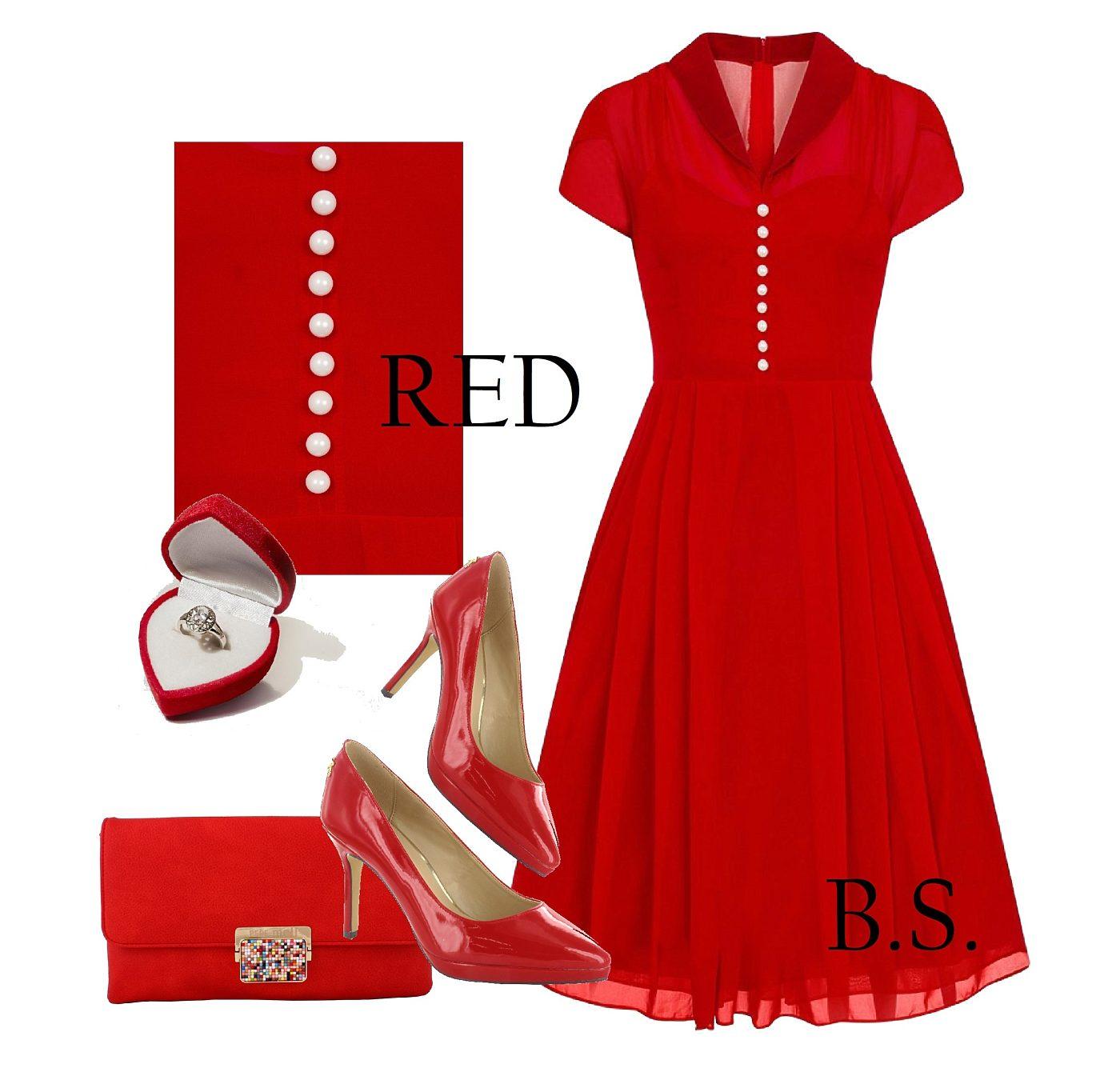 87dc870f682 Červené šaty Hell Bunny Paige Hell Bunny