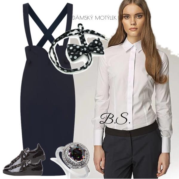 Dámská bílá košile Nife Zoe Nife  440e3d2166