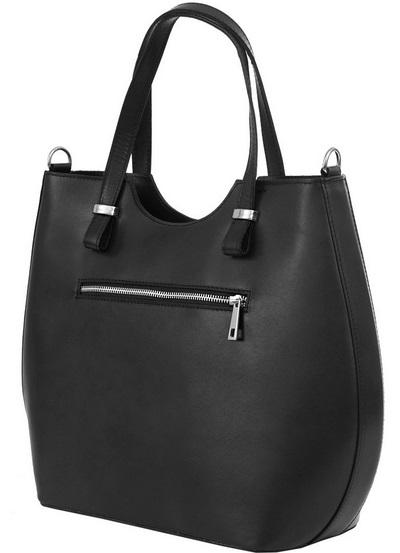 656c68a0c8 Kožená kabelka Taormina černá Blanka Straka