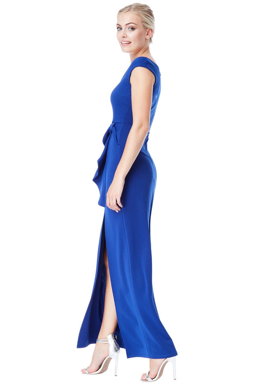 Královsky modré plesové šaty City Goddess Alex City Goddess  a74b3f6ad4