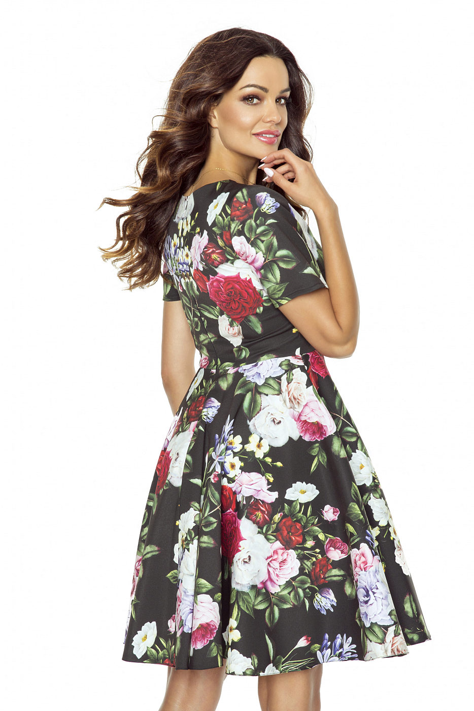 981e8831f55 Květované šaty se spodničkou Kartes Trinity Kartes