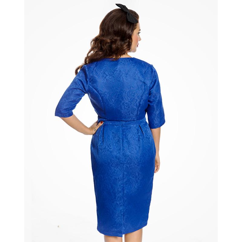 Modrý brokátový set Lindy Bop Marguerite Lindy Bop  a25769c6f7