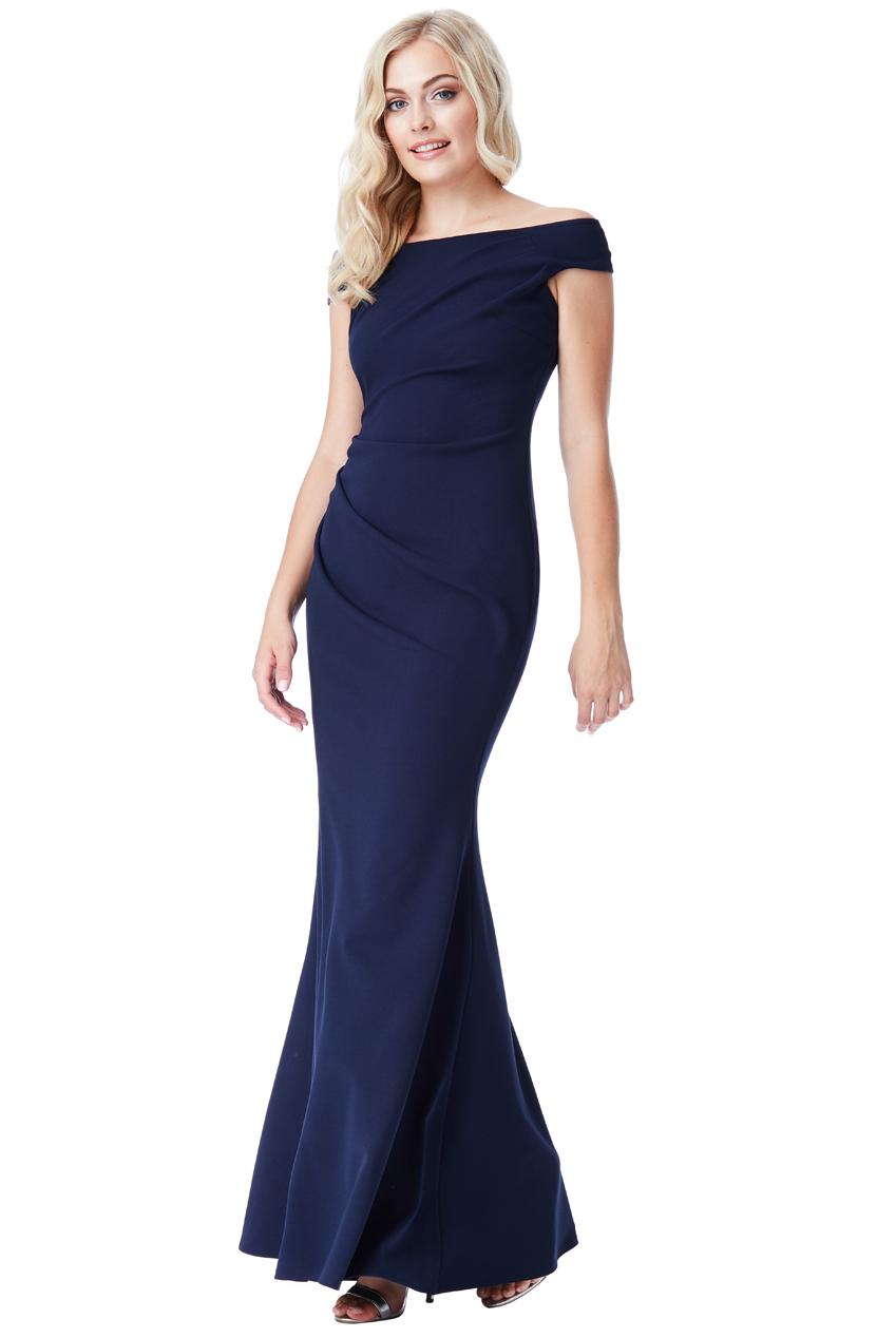Tmavě modré plesové šaty City Goddess Colette City Goddess  1c7341646f
