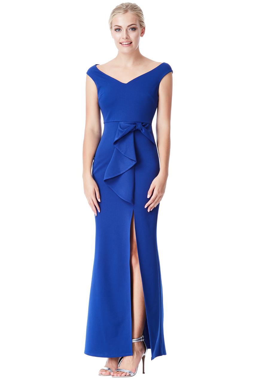 Královsky modré plesové šaty City Goddess Alex aa4be6e625