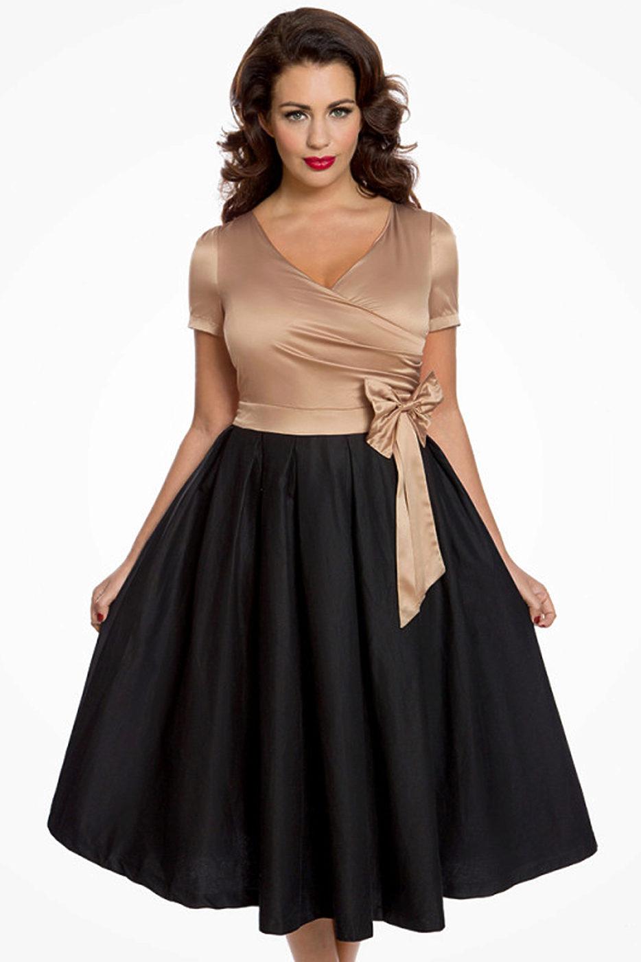e26040268275 Společenské šaty Lindy s mašlí Bop Gina Lindy Bop