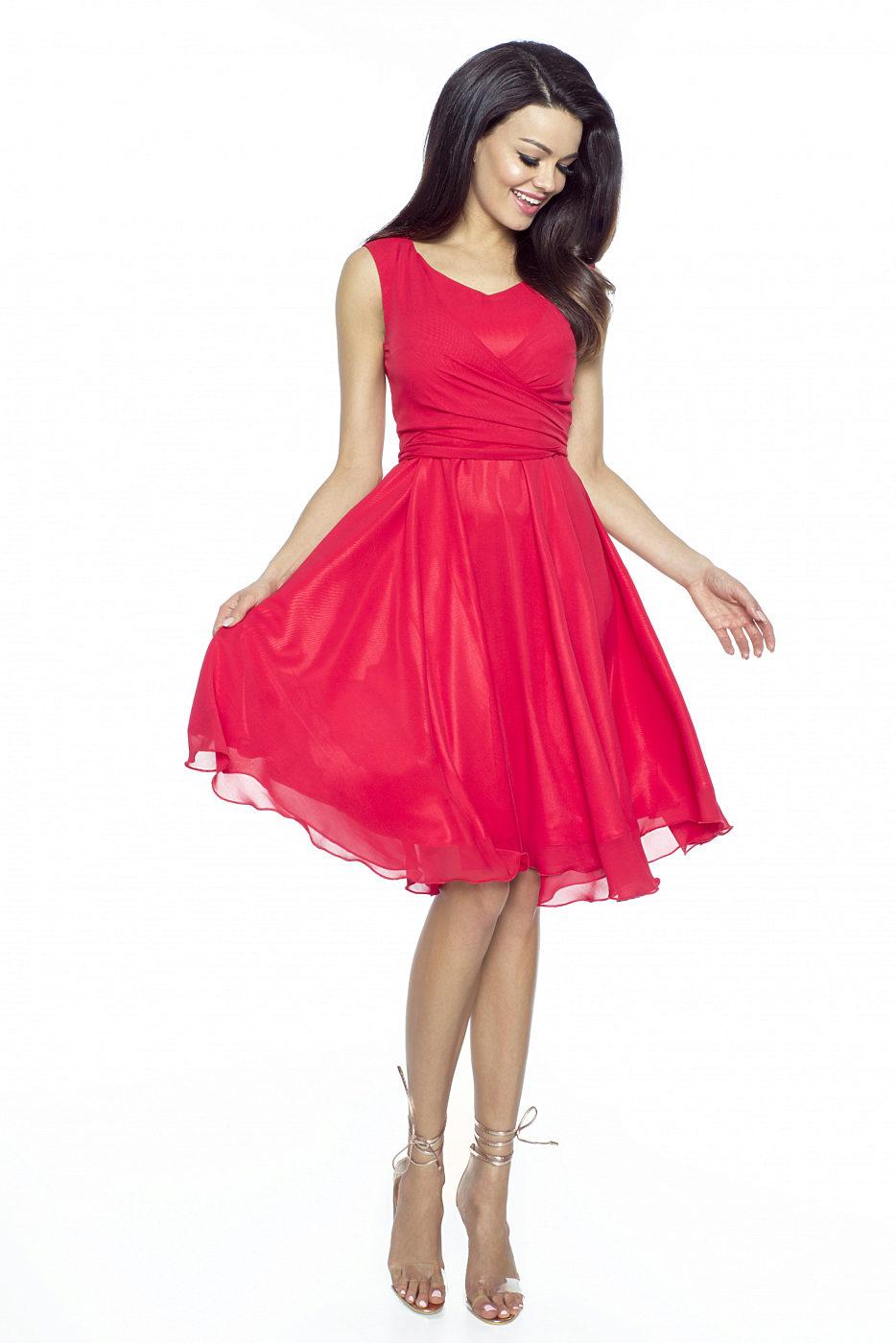 d7954194f25 Červené šaty Kartes Paola Kartes