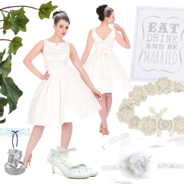 Svatební šaty v barvě Ivory Lady V London Tea Lady V London  9dbe9745ef