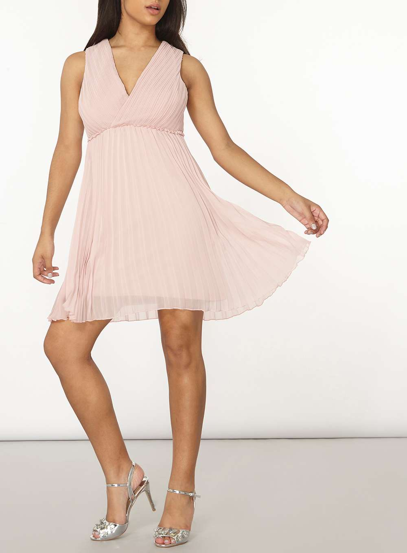 Světle růžové šaty Dorothy Perkins Melissa Dorothy Perkins  1bfbd8491c