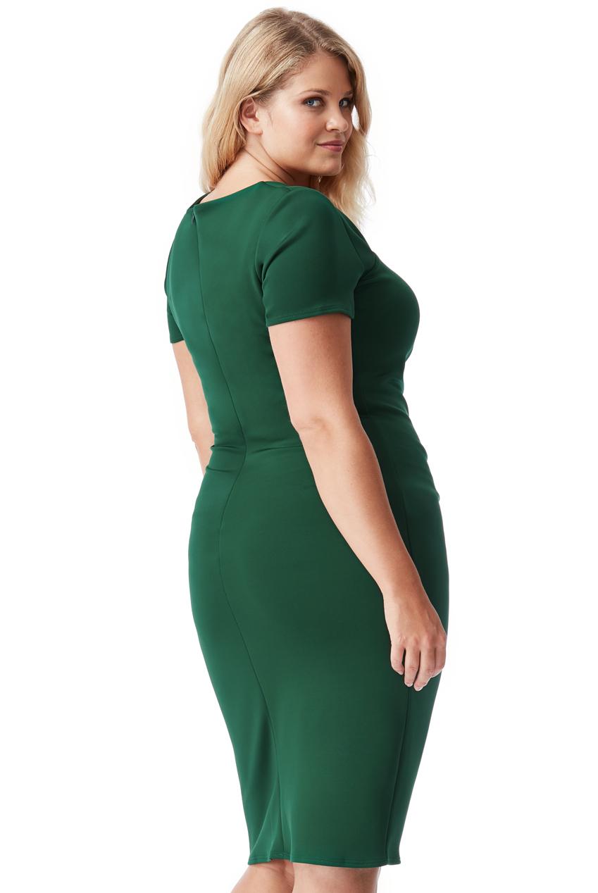 Zelené společenské šaty City Goddesse Caroline City Goddess  af810ccf62