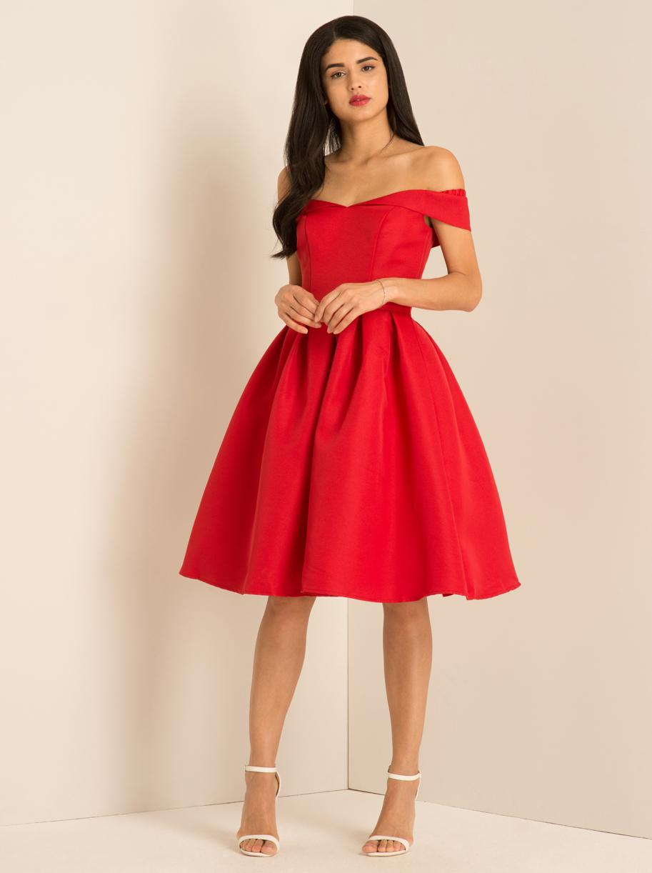 d8bdaa12a9ce Společenské šaty Chi Chi London Jadei červené Chi Chi London ...