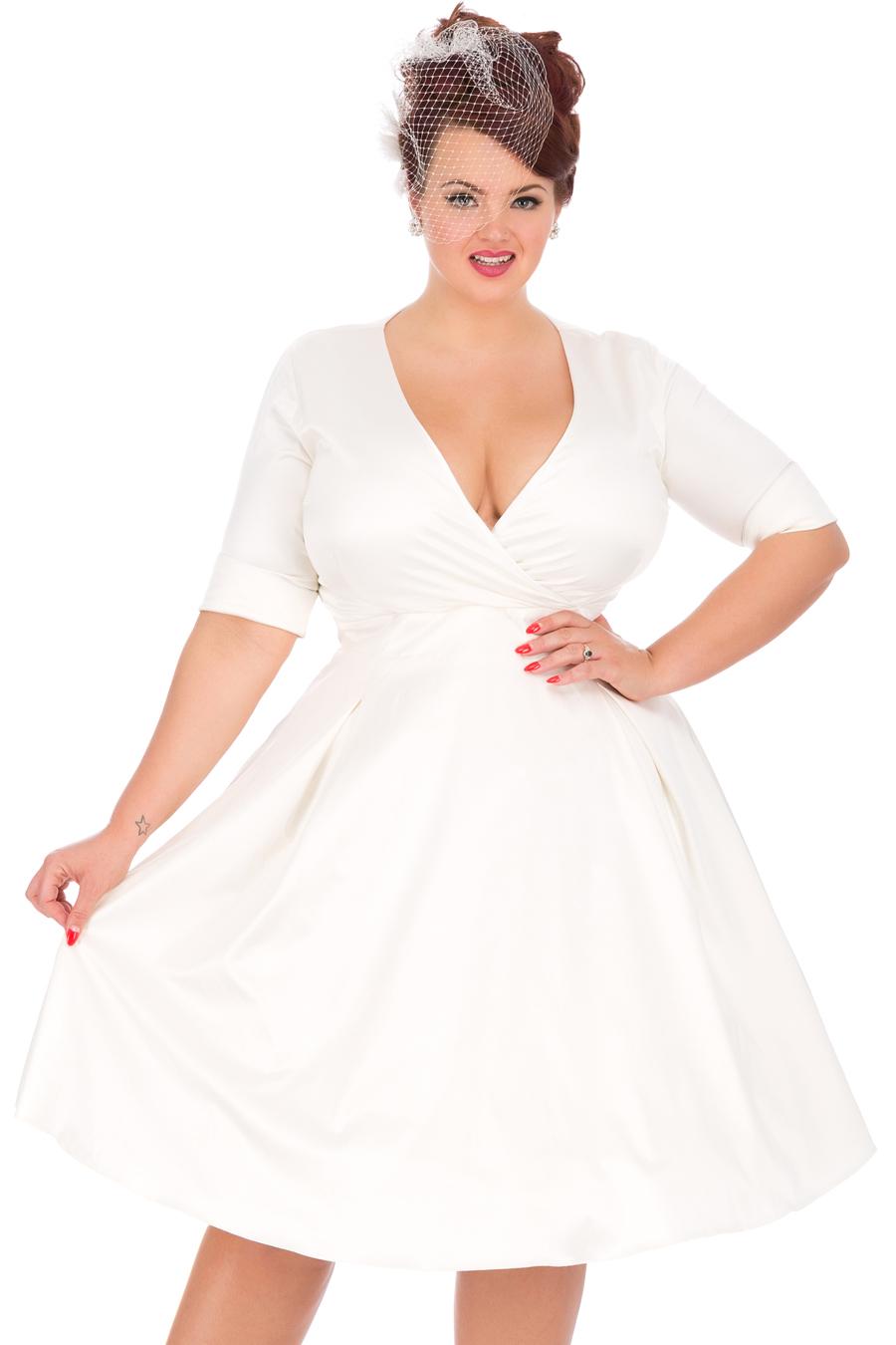 6bc453a377d Svatební šaty Lady V London Marilyn Ivory Lady V London
