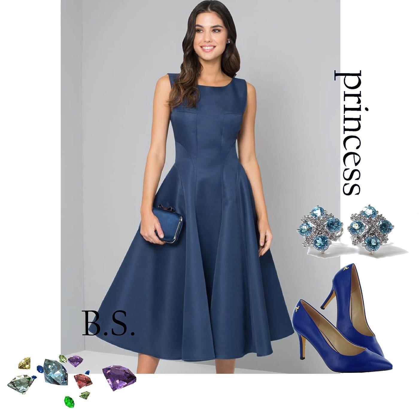Tmavě modré šaty Chi Chi London Beky Chi Chi London  53c7bbd82c