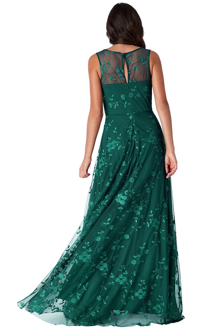 Zelené společenské šaty City Goddess Camel City Goddess  62edeb12e6