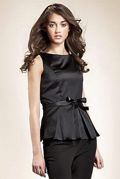 -19% Černá elegantní halenka Nife Ethel d14ba0b2d6