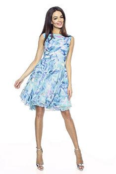 458fc3de5cb Letní šaty s tropickými květy Kartes Cindy