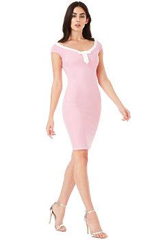 2e3ad13c0e5d Jednobarevné šaty City Goddess velikost 40