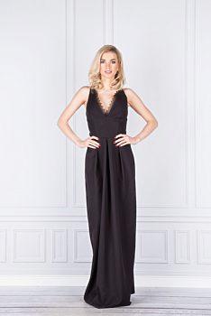 Společenské černé šaty Vinci Hit Lina 3883501094
