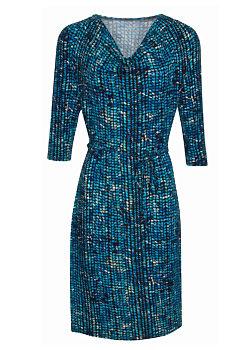 -5% Modré vzorované šaty Smashed Lemon Neila 8769c6478f
