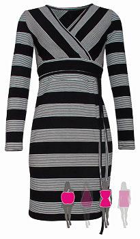 0af3bb7e18f Pruhované černobílé šaty Smashed Lemon Marcelle