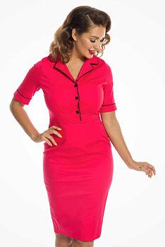 c8cd8034789e růžové Letní šaty Lindy Bop velikost 40