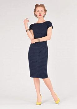 Tmavě modré pouzdrové šaty Closet Deborah cd39b2f312
