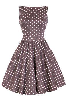 bb5b141fd57 Novinka Béžové šaty s puntíky Lady V London Tea