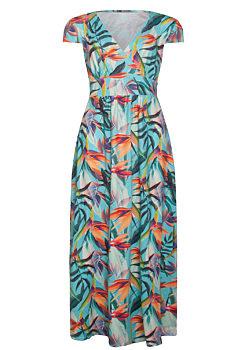 70dd0e4c5fd0 Novinka -10% Letní barevné maxi šaty Smashed Lemon Rina