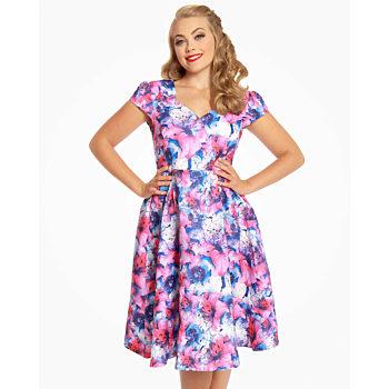 Barevné šaty Lindy Bop Celestine 33bbbcafb8