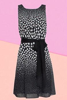 be03a06b959a Novinka -5% Černo bílé šaty s puntíky Smashed Lemon Pati