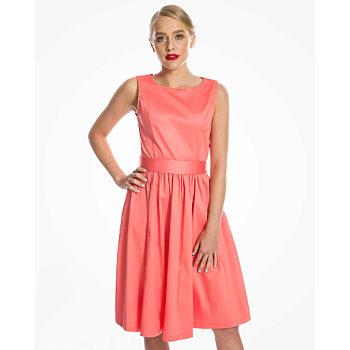 Jednobarevné šaty Lindy Bop velikost 40  d7a37acef0