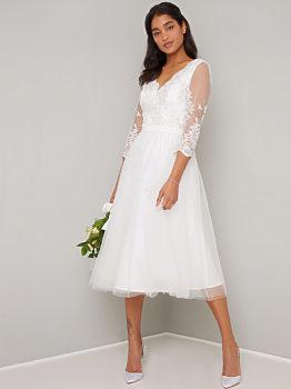 -11% Krátké svatební šaty Chi Chi London Cassidy d46cd99bc6