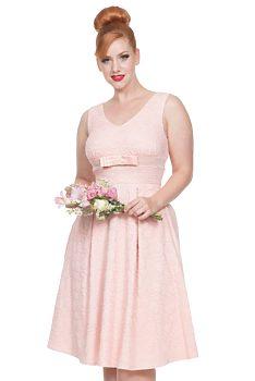 -15% Pastelově růžové šaty Voodoo Vixen Lauren c76832e8c8