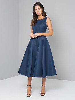 Tmavě modré šaty Chi Chi London Beky 3f1b99d96a