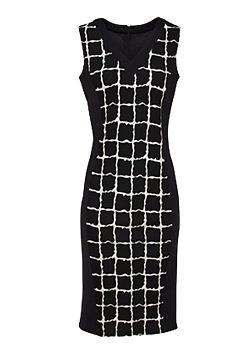 6cd1ee0a381 -5% Černé pouzdrové šaty Smashed Lemon Farah