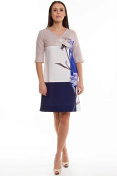 d06f163412b Novinka -13% Barevné šaty s malbou květiny Wesley Catalina