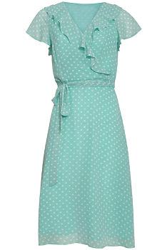 dfc5b9809531 -10% Mentolové šaty s puntíky Smashed Lemon Kesi