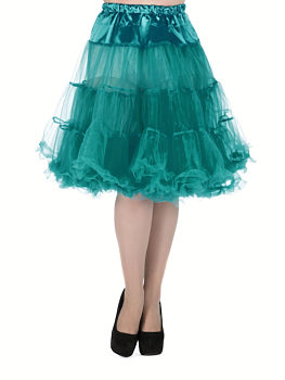 9ec0f3aab07 Tyrkysové šaty s lodičkovým výstřihem Nife Julia. 42  44. 1 290 Kč 645 Kč.  -35% Tyrkysová spodnička Lady V London 27