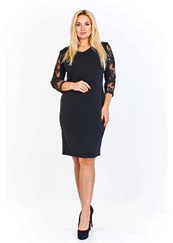 -5% Černé pouzdrové šaty Iwa Dewiya 1a4dfb5adc