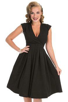černé Midi šaty velikost 36  4e159a69bc