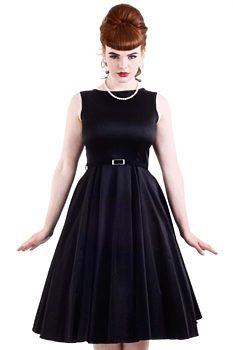 Černé společenské šaty Lady V London Audrey 7b6e20a105