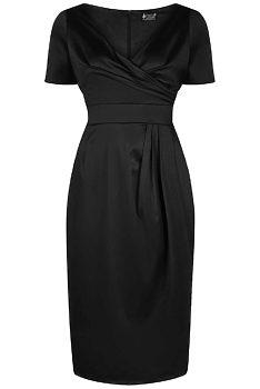 Černé pouzdrové šaty Lady V London Loretta 2da9e6aba6