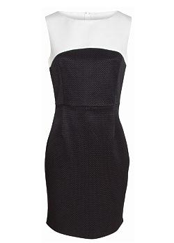 -5% Černobílé pouzdrové šaty Smashed Lemon Soraya 67e0cc1a64