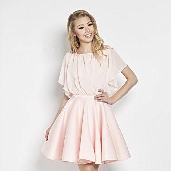 0c3fc4e000c Fialové společenské šaty s květy Betty M Lila Evening. 38  40. 2 300 Kč.  Růžové pastelové šaty Betty M Flamingo